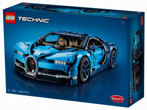 Lego Technic 42083 Bugatti Chiron Kup Klocki Doceń Potęgę Klocków