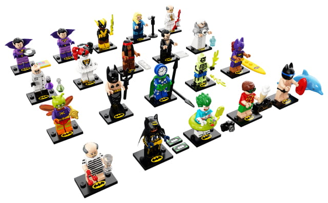 LEGO MINIFIGURKI 71020 BATMAN MOVIE SERIA 2