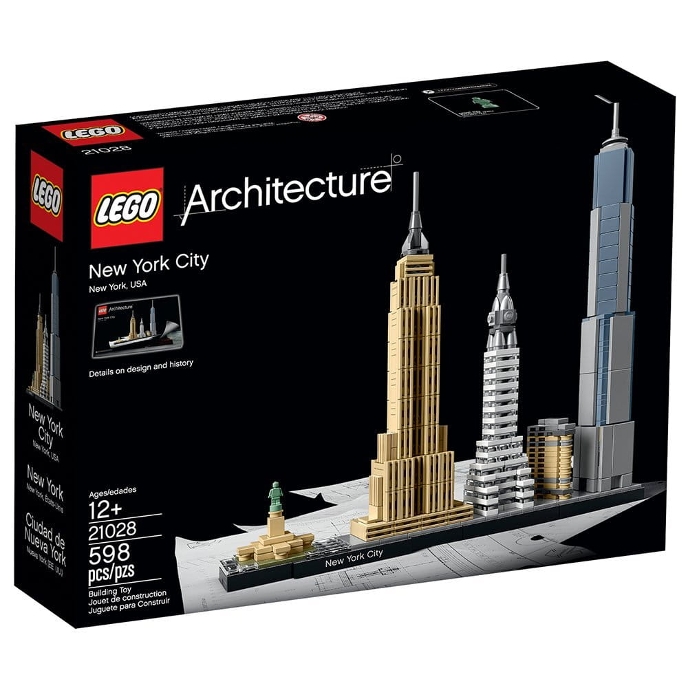 LEGO ARCHITECTURE 21028 Nowy York